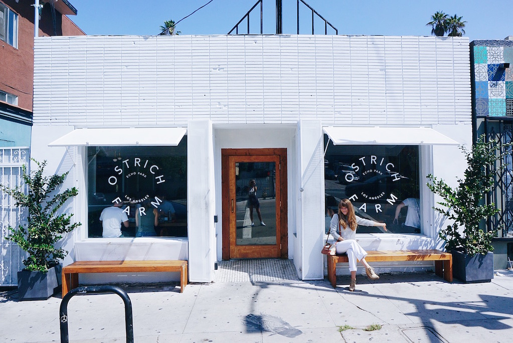 The Opening Of Ostrich Farm Serene Eatery On Sunset Is Proof That Echo Park Moving Up In Culinary Ranks Silverlake Has A Bevy Restaurants
