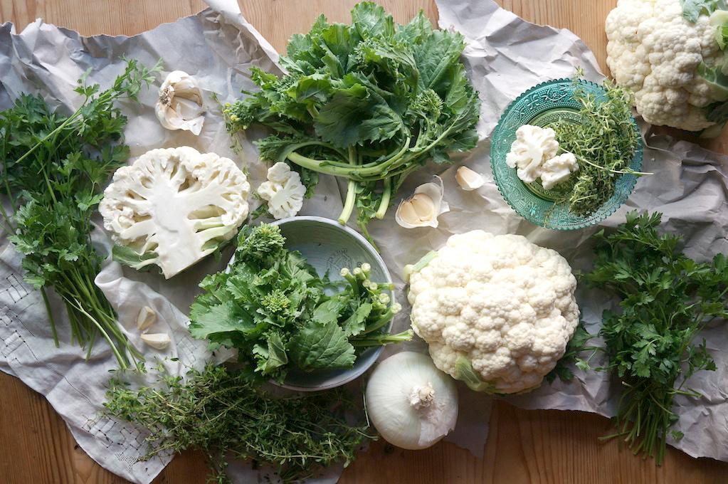 Herbed Cauliflower Gratin