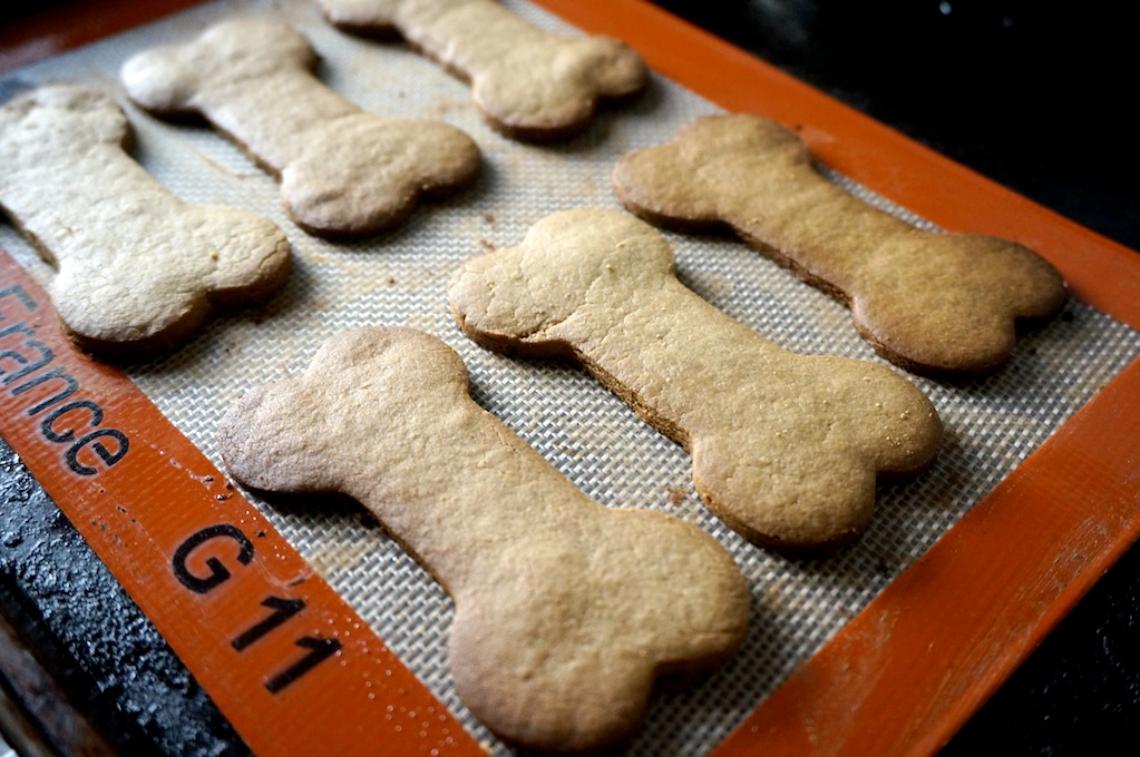 Baked Pup Cookies