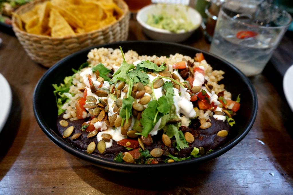 Vegan Bowl at Gracias Madre