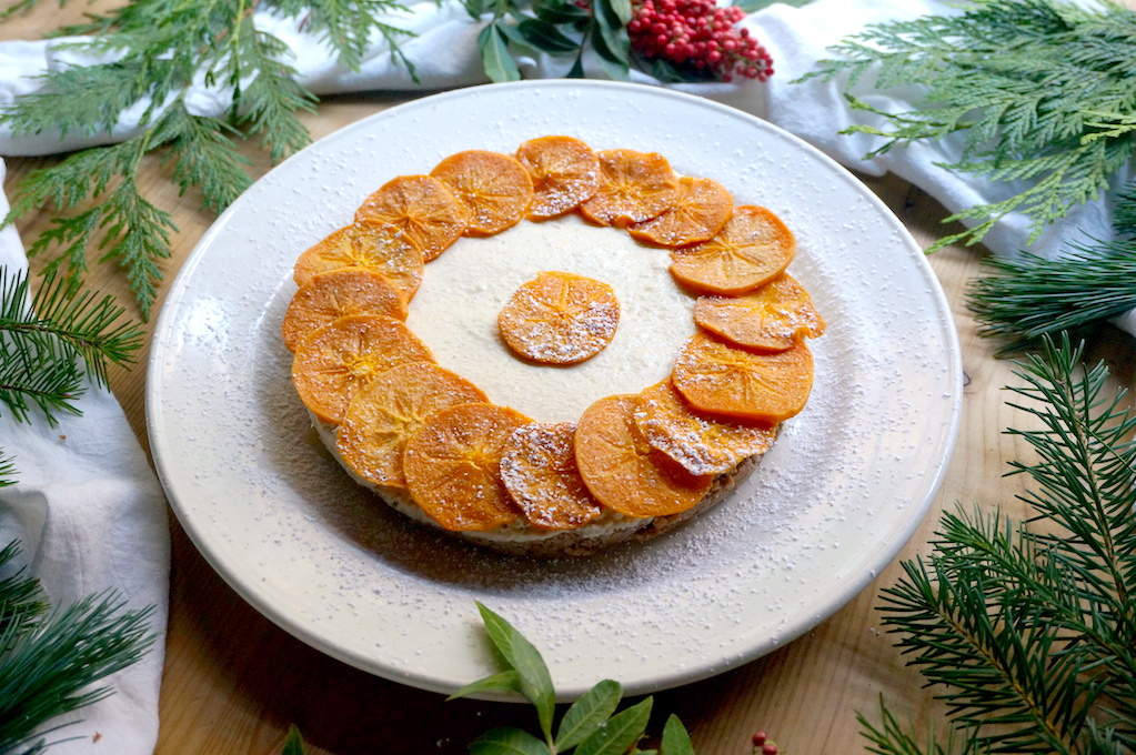 "Persimmon ""cheesecake"" side"