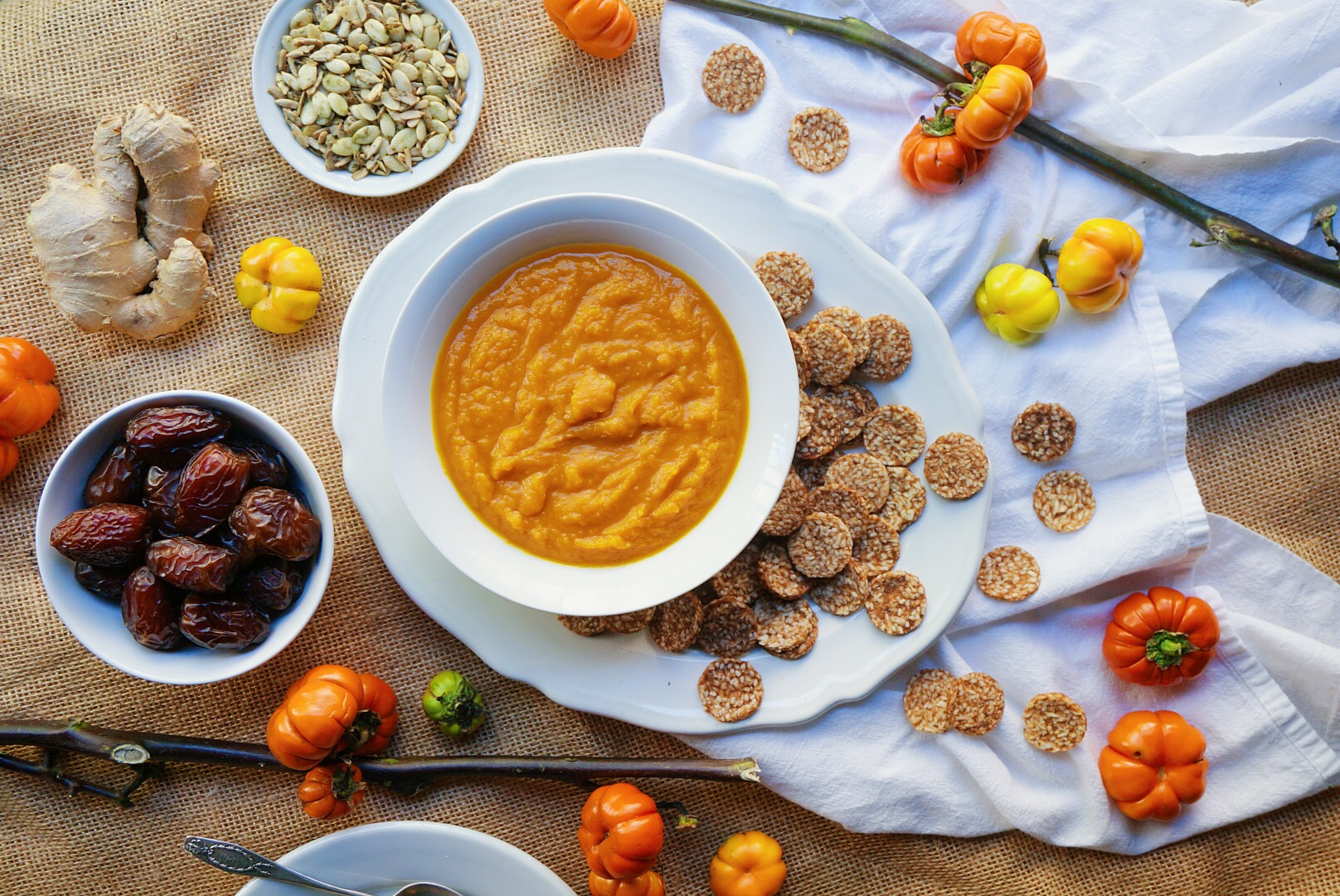 Mini Pumpkin Pie ingredients