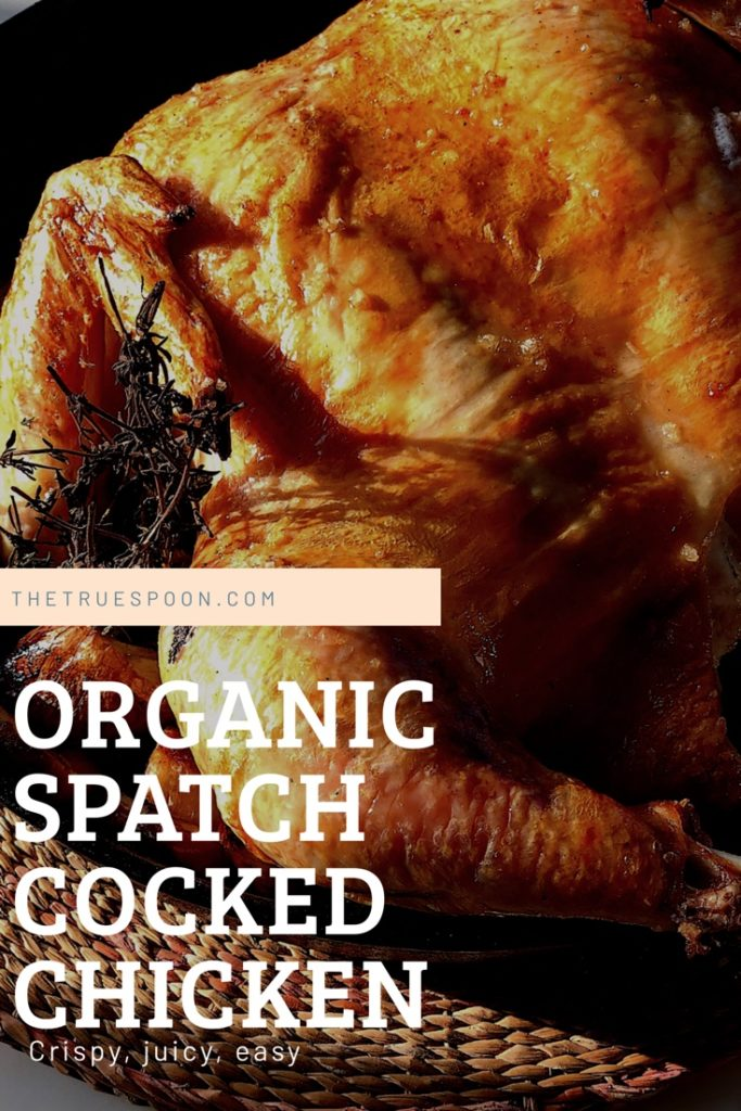 Organic Spatchcocked Chicken Recipe