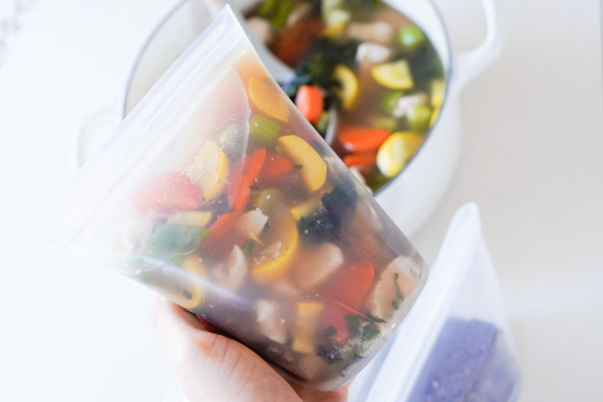 Zip Top, healthy meals, meal prep, skin boosting recipe, #eattoglow